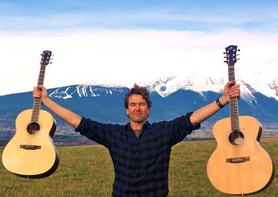 Mark Perry in his beloved Northwest BC!
