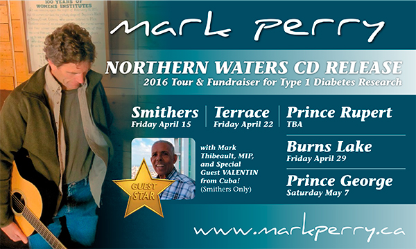 March 15, 2016 • Northern Waters CD Release Tour